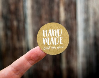 """Handmade Just for you Labels 