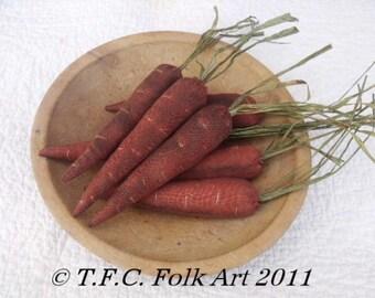 Primitive Carrot E-Pattern ~ 3 sizes
