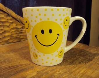1970's smily cup