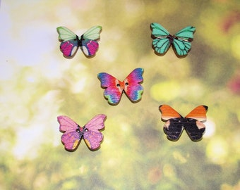 Butterfly Magnets, set of 5