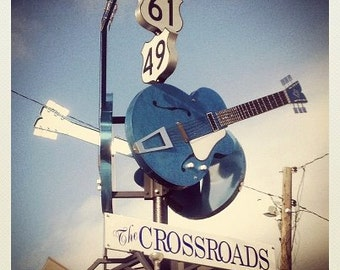 Crossroads - Original Mississippi Delta Photography Coasters