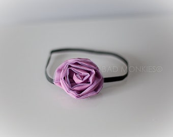 Purple Baby headband, Christmas headband, Purple headband, Baby headband, newborn photo prop, Baby shower gift
