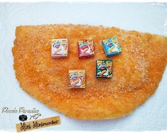 Italian Miniature Food,Handmade, Confezioni Sofficini Findus a scelta in scala 1:12