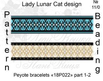 Peyote bracelet pattern, Bracelets peyote patterns, Fantasy peyote patterns, Shine peyote, Summer beading, Peyote stitch,  Beading patterns
