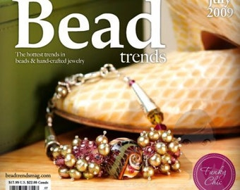 NEW Bead Trends Magazine July 2009 SBC