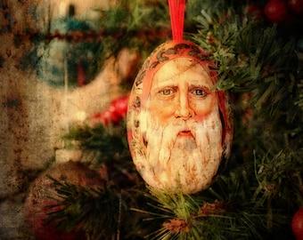 Old World Santa photographic art print