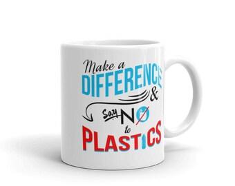 11oz Make a Difference Ceramic Mug