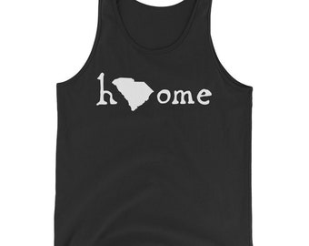 The South Carolina Home State Proud Lovers Gift Tank Top