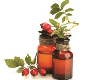 Rosehip Seed Oil Cold Pressed Refined or Virgin FREE SHIPPING Sample,1,2,4,6,8,12,16 oz