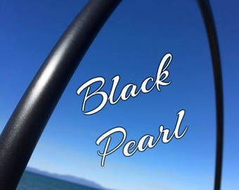 "Black Pearl Colored 5/8"" or 3/4"" PolyPro Hula Hoop - You pick the size - by Colorado Hula Hoops"