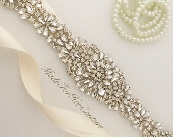 Wedding Belt, Wedding Sash, Wedding Dress Sash, Sashes, Belts, Wedding dress belt, Wedding Dress Sash, Rhinestone Sash & Belt, Bridal Belt