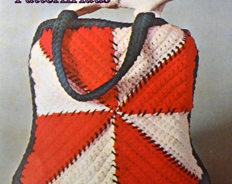 Crocheted Square Bag Pattern Instant Download