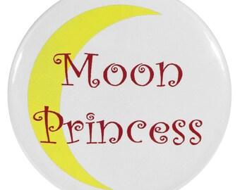 Sailor Moon 2.25 Inch Anime Button Moon Princess