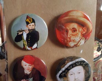 Art Snacks II - Pinback badges