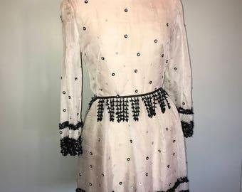 Chanel style vintage dress