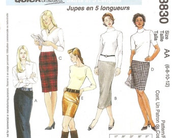 McCall's 3830 – Skirts in Five Lengths