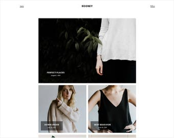 Rooney | Responsive Premade Blogger Template + Free Installation
