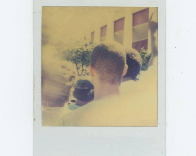 Vintage Polaroid SX-70 Snapshot Photo: Heads [81639]