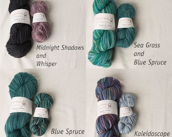 Tough and Tender Targhee Yarn Sock Kits