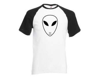 Alien ringer shirt