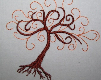 Machine Embroidery Design- Tree Of Life-SINGLE Design in 3 sizes!