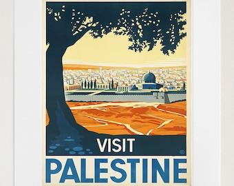 Palestine Travel Art Print Vintage Home Decor Poster (ZT153)