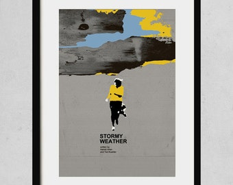 Stormy weather - A3 art print- jazz music poster