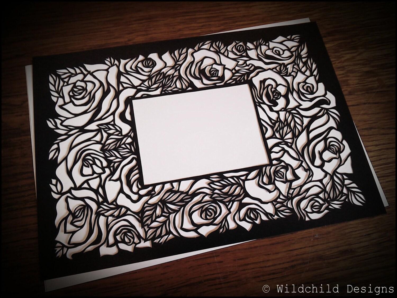 Valentine or mothers day gothic roses tattoo photo frame zoom jeuxipadfo Choice Image
