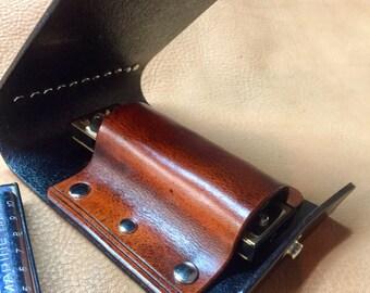 Harmonica Case: Single slot Harp Case, one of a kind.