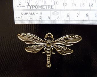 Big Bronze Dragonfly pendant