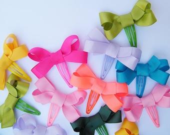 """Mini"" Spring color couple _ bow"
