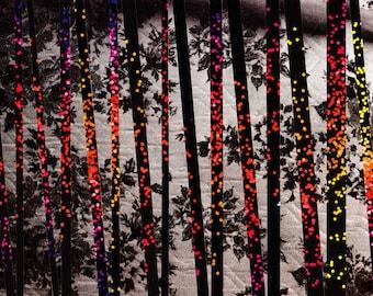 """A5 - Original Collage Print - """"Dark Sparks"""" - Set of 5 folded A5 cards + envelopes"""