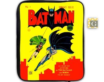 Batman iPad Case, Laptop Bag, Laptop Sleeve, Laptop Case, iPad Sleeve, MacBook Case, Tablet Case - Vintage Batman
