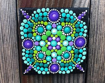 Mini Mandala Acrylic Painting