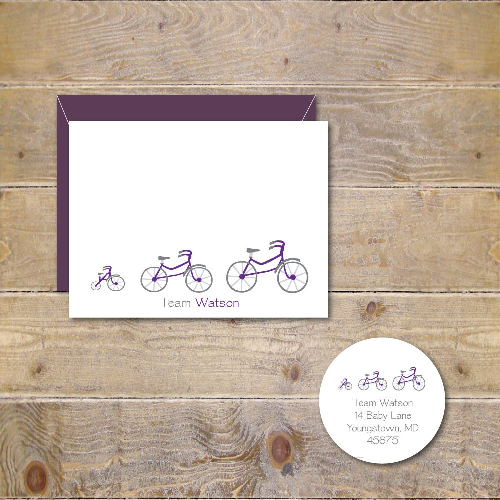 Bicycle baby announcements bicycles baby shower thank you zoom filmwisefo Choice Image