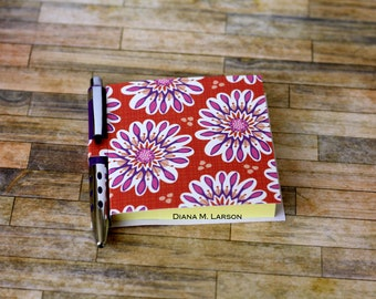 Sticky note holder, Big Flowers, Post a Note (5494)