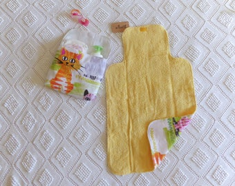 """Changing Pad and Diaper bag """"Sweet Kittens"""""""