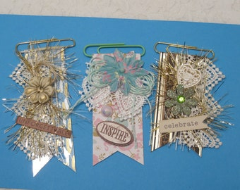 Shabby Chic Paperclip Embellishments