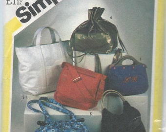 Simplicity 5476 Handbag Sewing Pattern