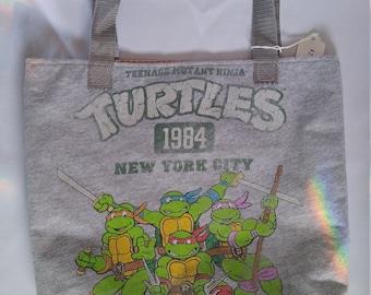 Ninja Turtle t shirt tote bag