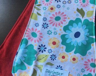 Cotton & Flannel Burp Cloth