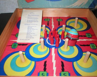 1940's Zip-Top Game with Box