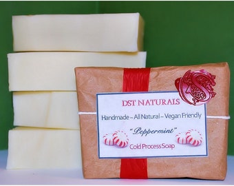 Peppermint Cold Process Soap