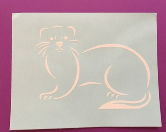 Ferret decal, ferret iron On, ferret, ferrets, animal
