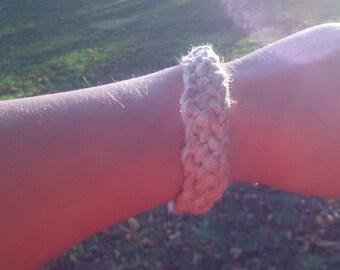 Thick Hemp bracelet or anklet