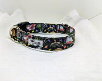 The Eleven - Custom Handmade Dog Collar, Stranger Things, Netflix, TV Show, 11, Multiple Options