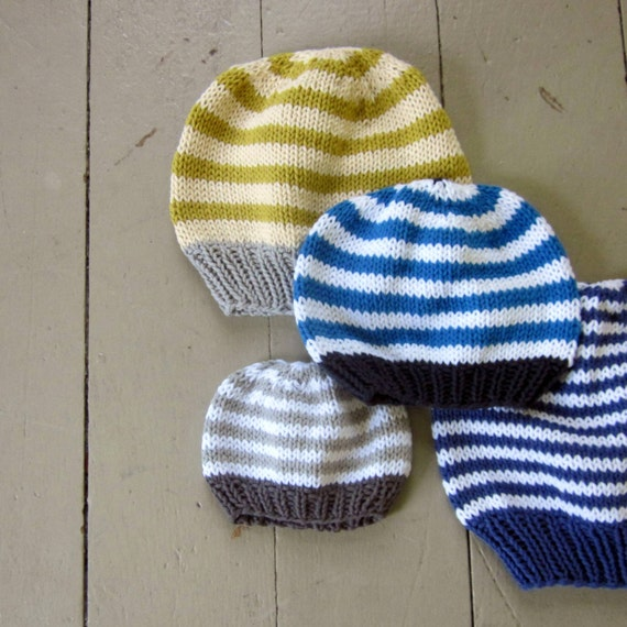 Childrens Knit Hats Patterns Girl