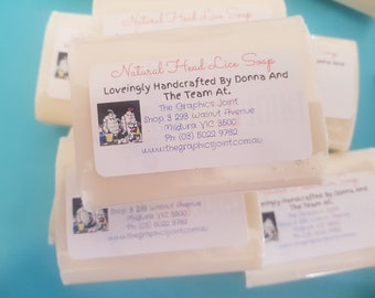 All Natural Nit and Head Lice Soap