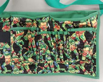 Ninja Turtles Handmade Superhero Work Apron