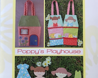 Two Brown Birds Poppy's Playhouse TB006 Pattern